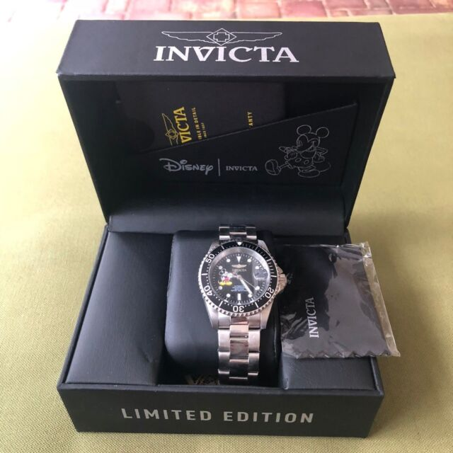 16464d16dfc Invicta Disney Limited Edition Mickey Mouse Mens Automatic Stainless Steel  24607