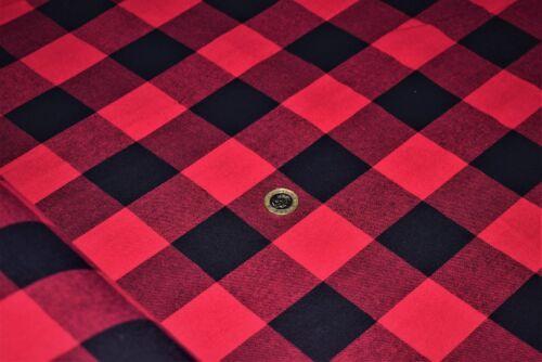 3 Colours Soft Brushed 100/%Flannel Cotton 145 cm width