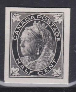 Canada-1897-66P-Queen-Victoria-Maple-Leaf-Issue-Plate-Proof-VF-MH