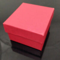 6-Color Present Gift Boxes Case For Bangle Jewelry Ring Earrings Wrist Watch Box