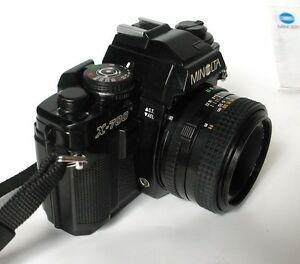 Minolta X-700 Manual Camera with MD 50mm f/1.7 Lens for Photography Students