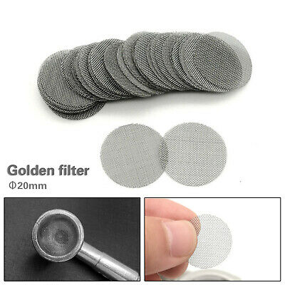 """Stainless Steel Pipe Screen Tobacco Smoke Screen Wholesale 0.78/"""" 100pcs 20mm"""