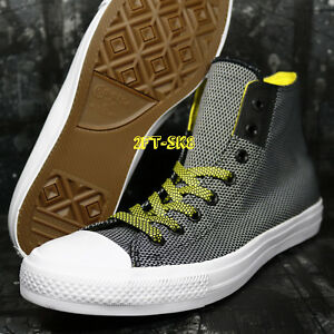 d41494c392c8 Converse CHUCK TAYLOR ALL STAR II BLACK WHITE YELLOW MEN S 10.5 ...