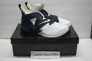 a237ecd4bd93 Lebron Soldier XII SFG NEW AUTH White Midnight Navy M AO4054-100 SZ ...