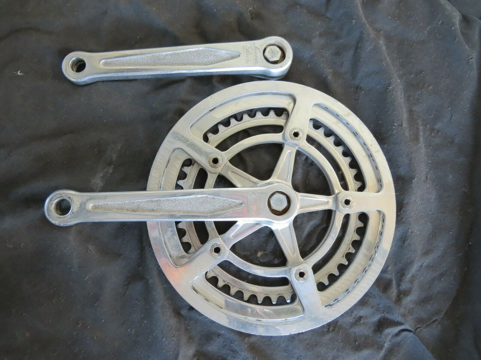 NERVAR 170 CRANKSET ARM 42 52 CHAIN RINGS WHEELS ROAD  VINTAGE BICYCLE  cheap