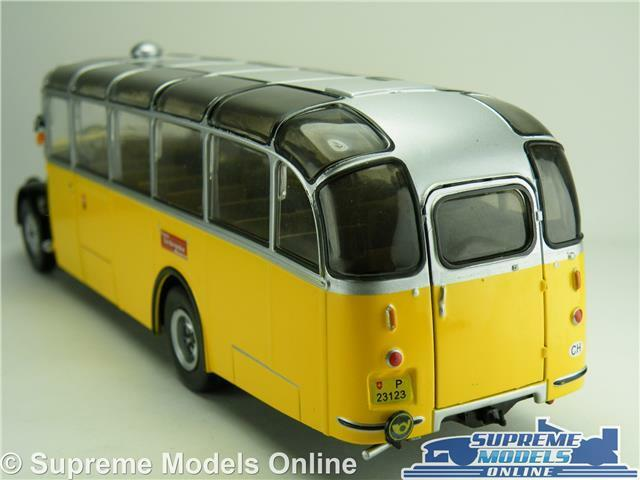 SAURER L4C MODEL BUS 1959 1959 1959 1 43 SCALE IXO SWISS PTT POST SAN BERNARDINO K8 2045ea