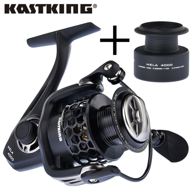 New KastKing Spinning Fishing Reel Mela II With A Free Spare Spool Spinning Reel