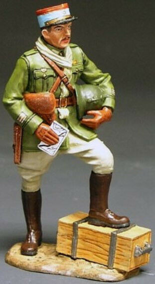 KING & COUNTRY FIELDS OF BATTLE FOB001 FRENCH GENERAL'S AID DE CAMP MIB