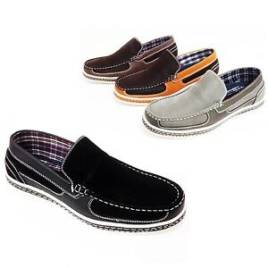 Men-039-s-Casual-Shoes-Loafers-Slip-On-Driving-Moccasins-Moc-Toe-Boat-Sneaker-Sizes