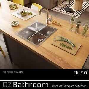 316-stainless-steel-400-450-215mm-1-2mm-Round-plug-R10mm-kitchen-sink-Laundry
