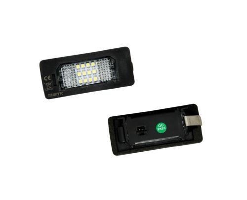 LED Kennzeichenbeleuchtung Nummernschild Leuchten Audi A4 Avant B8 A5 TT