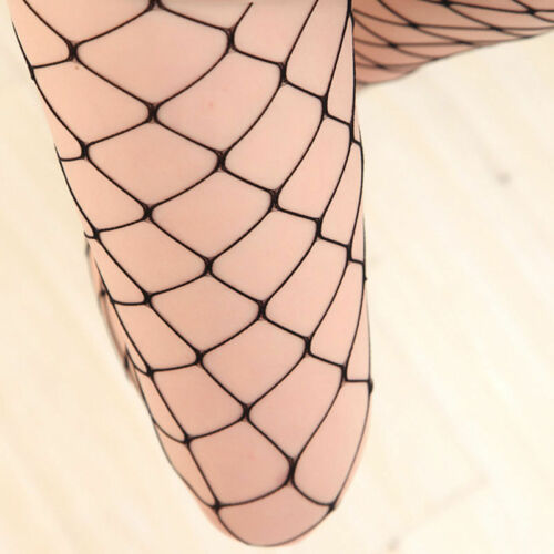 Hot Fishnet Women Lace Top Mesh High Thigh Stockings Tights Pantyhose Long Socks