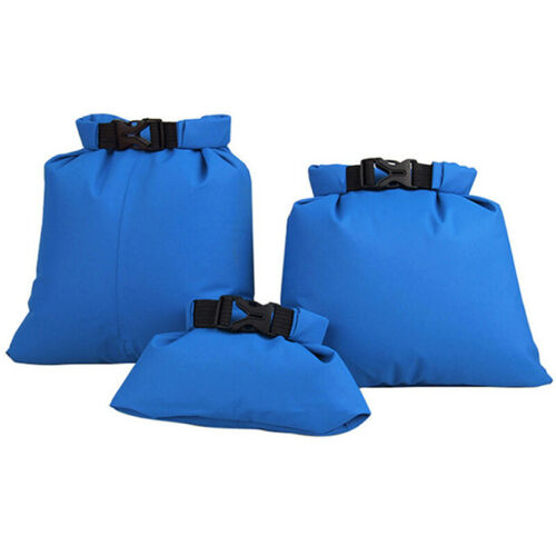 3 PCS Waterproof Dry Bag Kayak Camping Fishing Sailing Spots Hiking Sack Outdoor