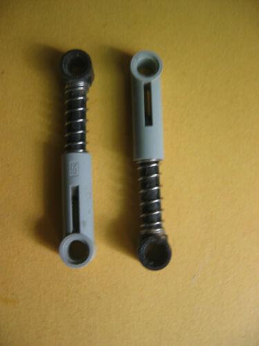 Técnica lego Technic accesorios 2 amortiguadores gris