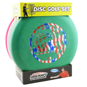Discraft-Beginner-Disc-Golf-Set-Includes-1-Driver-1-Mid-Range-and-1-Putter