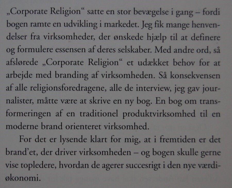 Unik NU...eller aldrig, Jesper Kunde, emne: