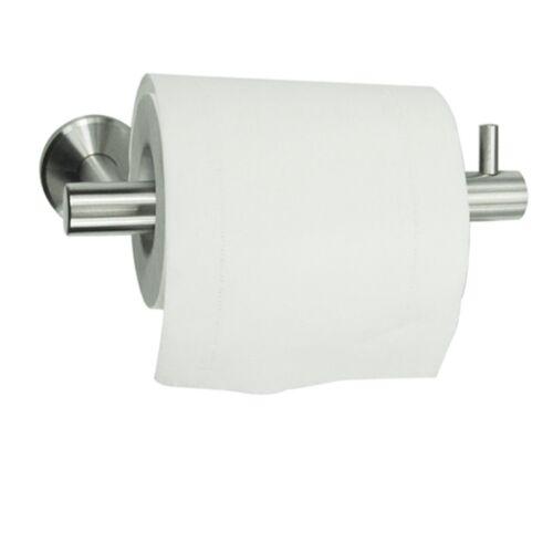 Wc Porte-Rouleau Papier Tissu Distributeur Support Rond Support Mural Brossé STAINL