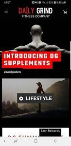 Daily-Grind-Fitness-Company-Website-For-Sale-Established-Website-For-Sale