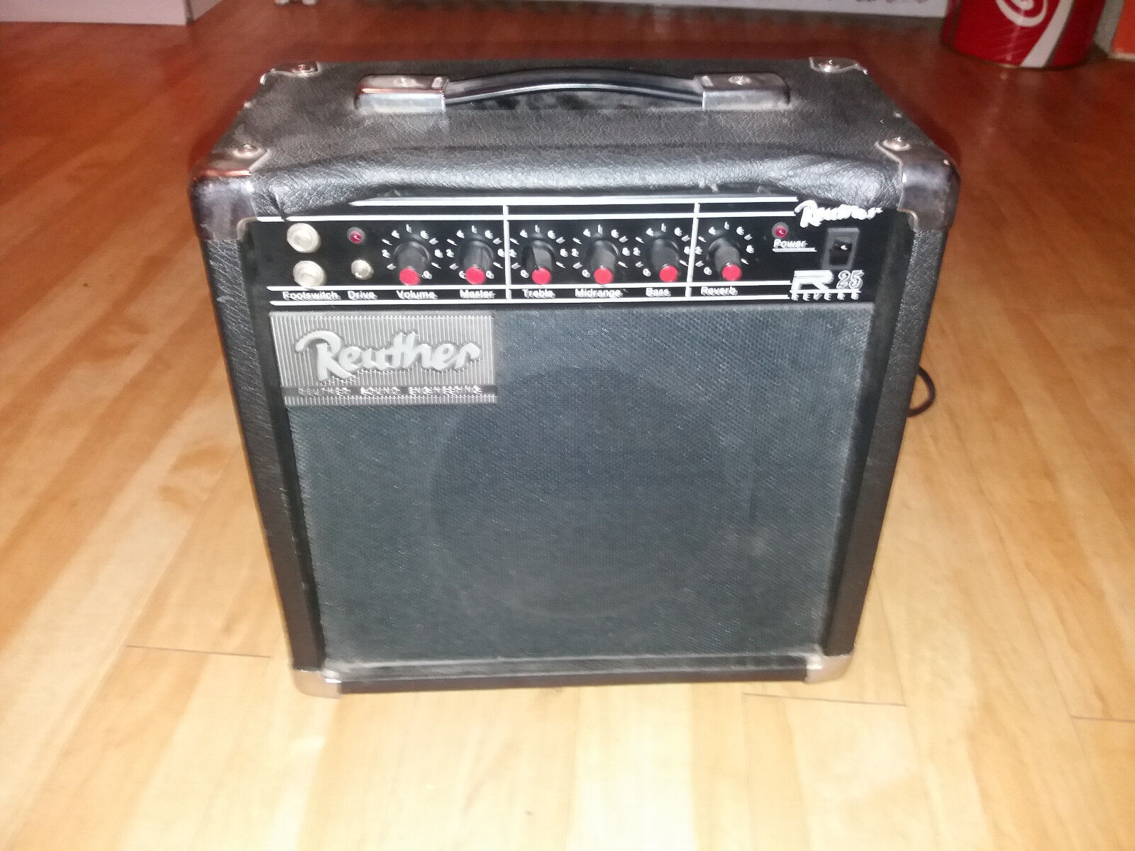 RARE VINTAGE - REUTHER R25 Reverb - 50W Gitarrencombo 80s