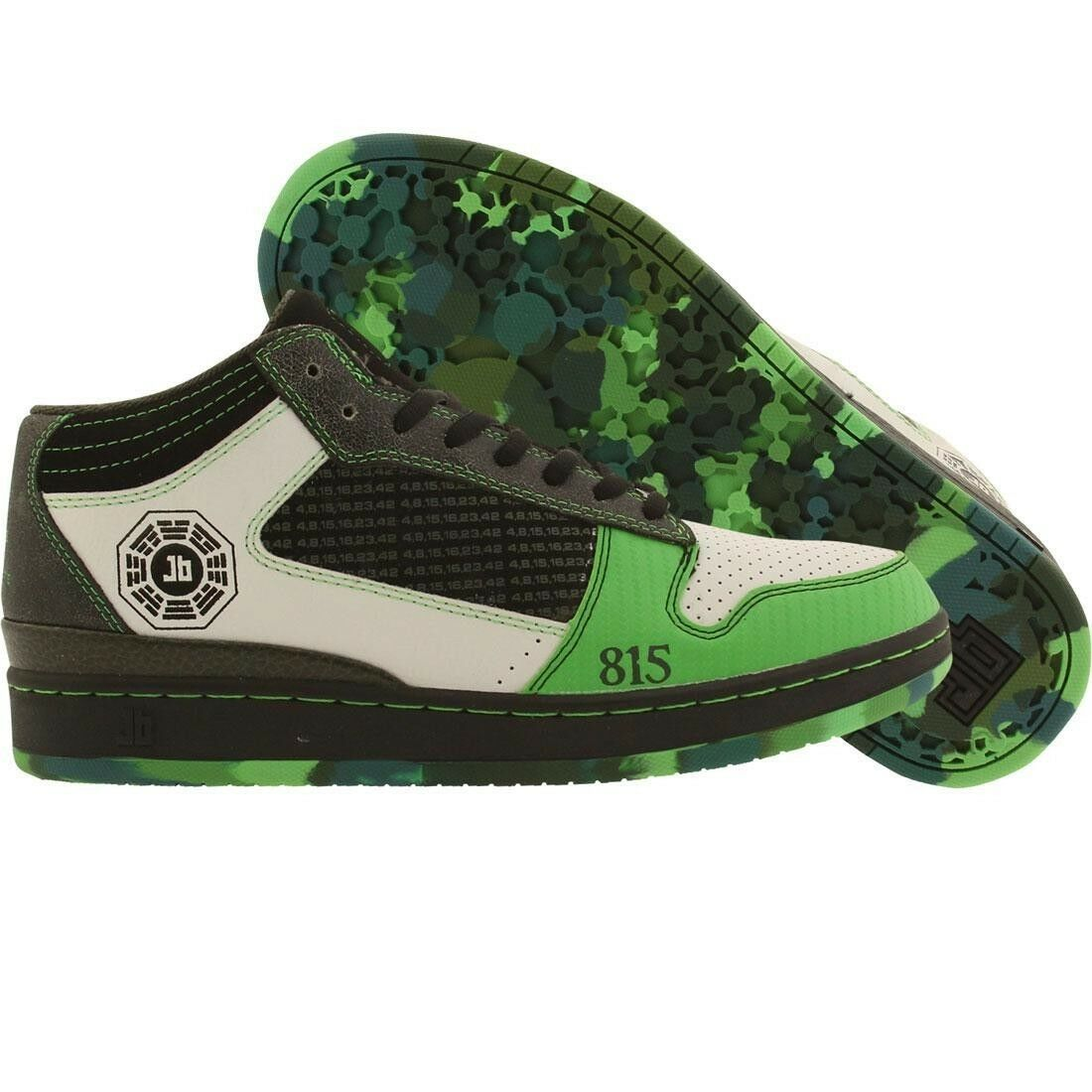 $130.00 JB Classics Getlo Mid / Eight-One-Five (lawn / black / Mid antique) 200-08 51a6ff