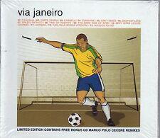 VIA JANEIRO LIMITED EDITION CON MARCO POLO CECERE  REMIXES - 2CD NUOVO SIGILLATO