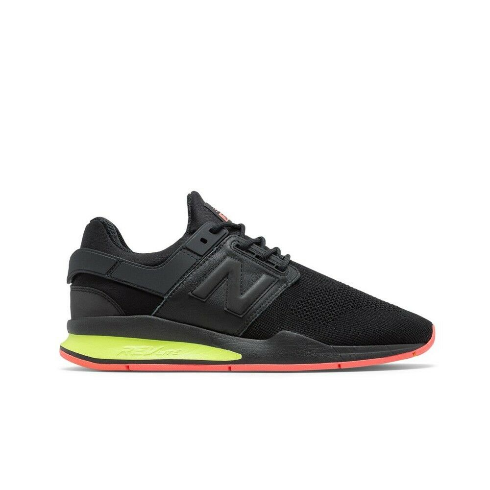 New Balance MS247TT  Tritium  (Black Solar Yellow) Men's Lifestyle shoes