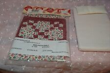 Doll House Handcrafted Quilt and Mattress New MIP