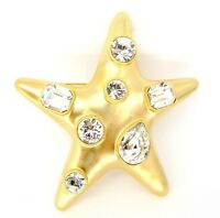 Brooches Brooch Star Pin Kenneth Jay Lane Faux Stones As Worn By Jackie Kennedy