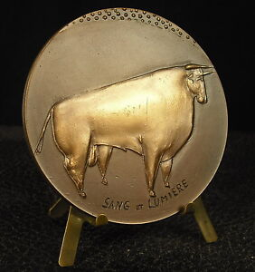 Medal-Bull-and-matador-Bullfighting-Bullfight-Bull-by-Volti-Medal