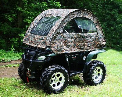 Camo type Realtree Hardwoods MOBU Rain Rider ATV Convertible Top Multipurpose