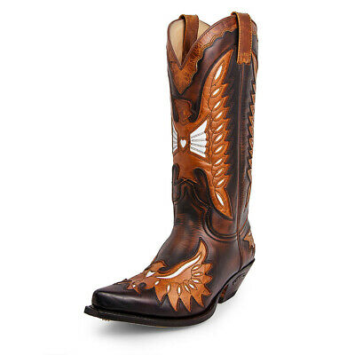 Sendra Boot Cowboystiefel Westernstiefel 6990 Braun