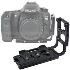 Kamera Platte Schiene Griff Schnellwechselplatte fr Canon EOS 70D/60D/Stativkopf