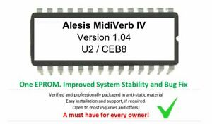 Alesis-Midiverb-IV-4-Version-1-04-Firmware-Update-OS-upgrade-Eprom-M4