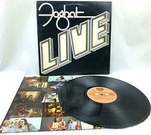 Foghat-Live-Original-1977-Bearsville-BRK-6971-US-Record-NM-Vinyl-LP-EX-Jacket