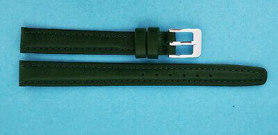 Uhrband Kalbsleder beige blau dunkelblau,grün bordoweiß 11mm Made in Germany