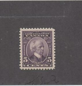 CANADA-MK2954-144-VF-MH-5cts-1927-SIR-WILFRED-LAURIER-VIOLET