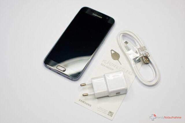 SAMSUNG GALAXY S7 G930F - 32GB - SMARTPHONE - SCHWARZ - HÄNDLER - RECHNUNG