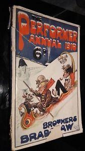 Performer Annual 1910 Dicembre Vol. Xi N°248 Illustre ABE