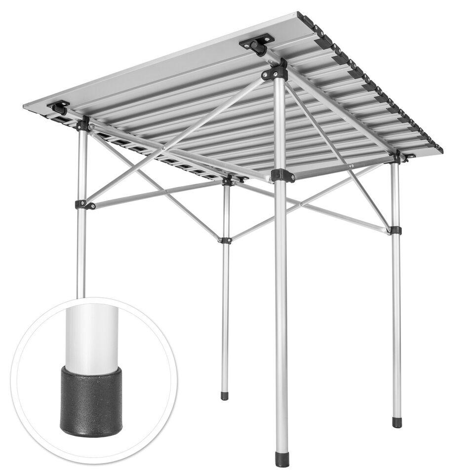 Campingbord Aluminium 70x70x70cm foldbar