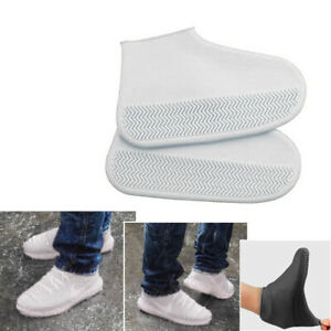 Silicone-Overshoes-Rain-Waterproof-Shoe-Covers-Boot-Cover-Protector-Recyclable