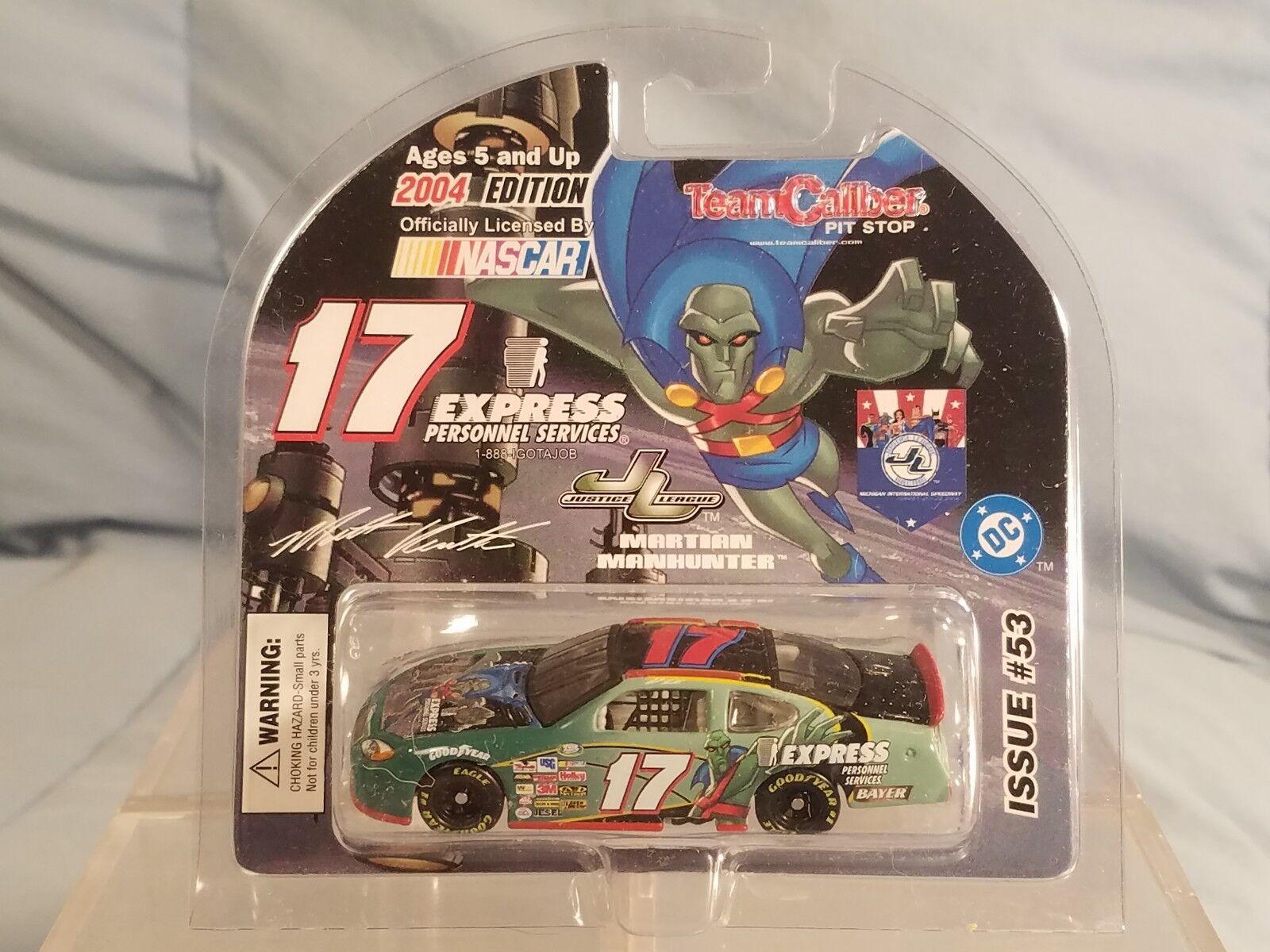 Team Caliber 2004 Matt Kenseth Martian Manhunter D.C. Diecast NASCAR 1 64