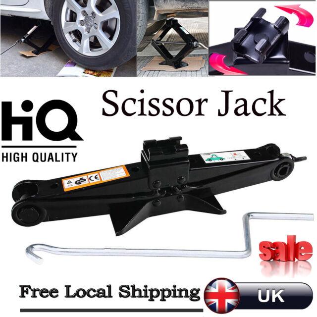 Original 2 Tonne Scissor Wind Up Jack For Car Van Auto Crank Speed