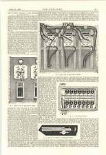 1895 Electric Lighting Of The Houses Of Parliament Switchboard Control Room