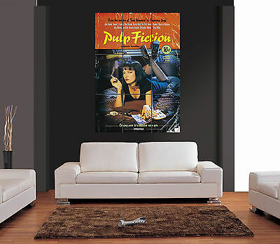 PULP FICTION QUENTIN TARANTINO MOVIE FILM Giant Wall Art Print Picture Poster