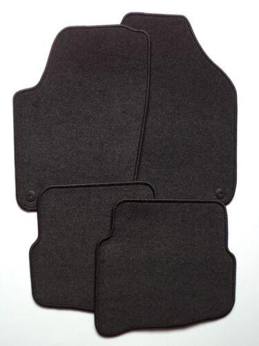 Autoteppiche Nadelfilz schwarz VW Polo Typ 9N ab Bj 2001-2007  Passform