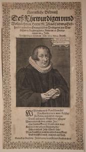 c1625-Gebhard-Israel-Prediger-Theologe-Augsburg-Kupferstich-Portraet-Kilian