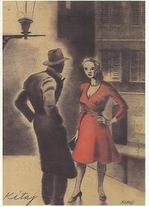 Kunstpostkarte Weich Und Leicht Kitaj Usa Pop Art Orig.sign 1932-2007 Aus Dem Ausland Importiert R.b