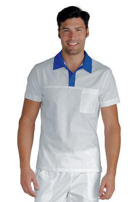 In Workmanship Precise Polo Miami Unisexe Isacco Pizzeria Cuisine ÉtÉ T-shirt MaÎtre D'hÔtel GarÇon Exquisite