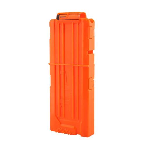 Soft Bullet Clips For Nerf Toy Gun 6//12 Bullets Ammo Cartridge Dart For Nerf Gun