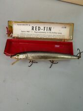 """MINT 5 3//8/"""" Fishing Lure 906 COTTON CORDELL RED FIN Deep Diver 900 Series"""